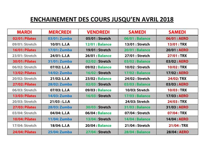 Enchainement Cours-1